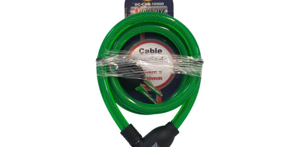 Candado cable sencillo