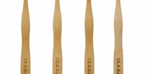 Brosse à dent en Bambou Adulte