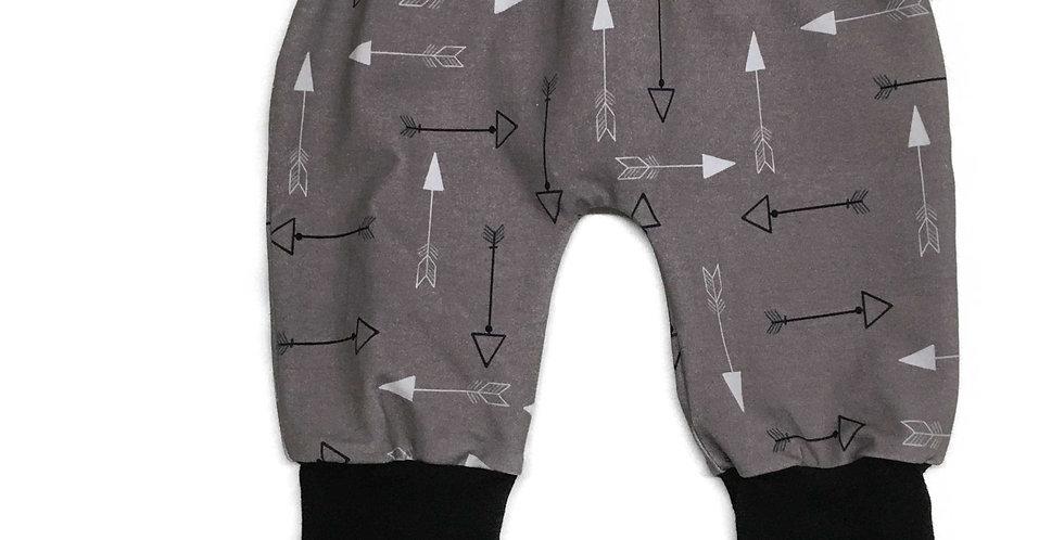 Pantalon évolutif (Flèches/Gris-noir)