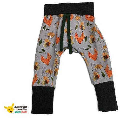 Pantalon évolutif (Renards/Gris)