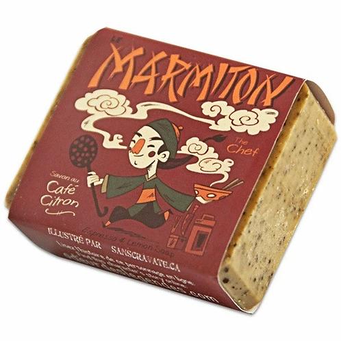 LE MARMITON - SAVON DE CUISINE AU CAFÉ