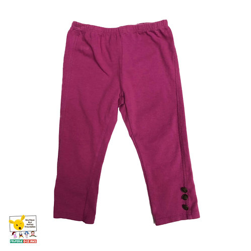 Pantalon court Style Capri 3 ans