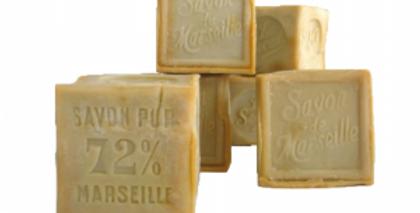 Détachant-bloc de savon de Marseille