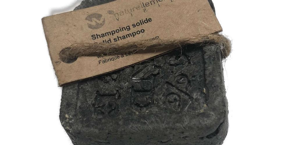LE NOIR shampoing solide