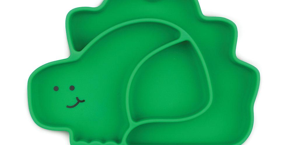 Plat en silicone - Dino