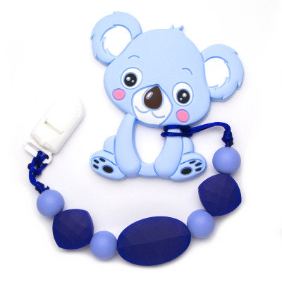 Jouet de dentition - Koala bleu