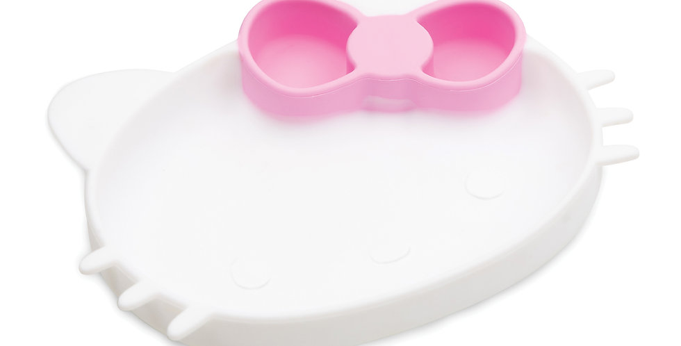Plat à poignée en silicone - Hello Kitty®