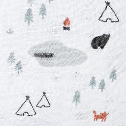 Mousseline Camping Perlimpinpin