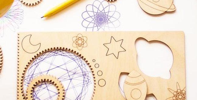 Spiral-ART- Ensemble à dessin