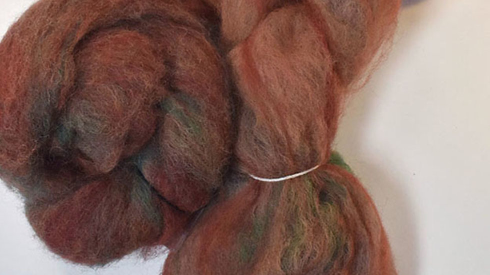Unidled Hands - indie-dyed fiber
