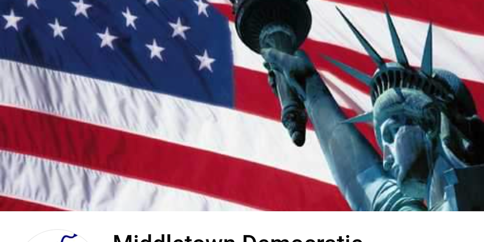 Middletown Democratic Executive Committee: Candidate Event