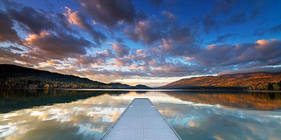 Whitefish Lake Reflection