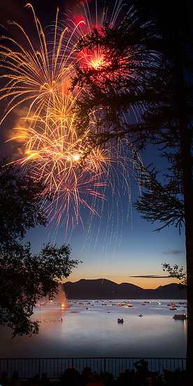 Whitefish Lake Fireworks
