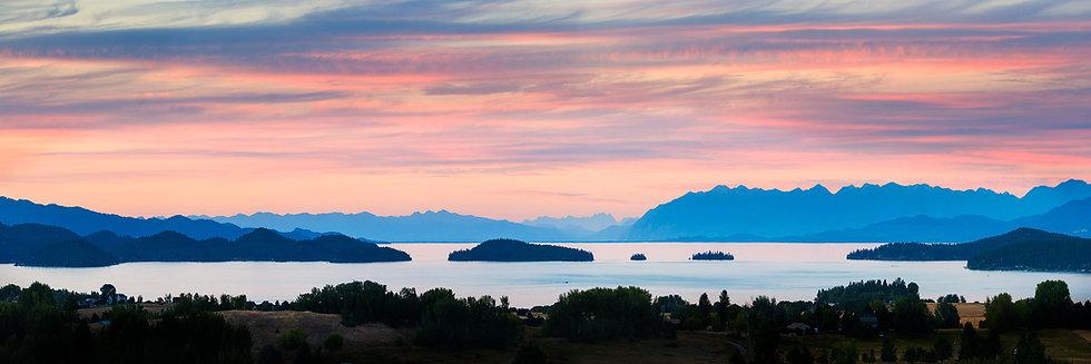Flathead Lake Sunset Overlook