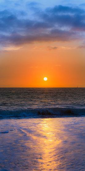 Puerto Vallarta Vertical Sunset