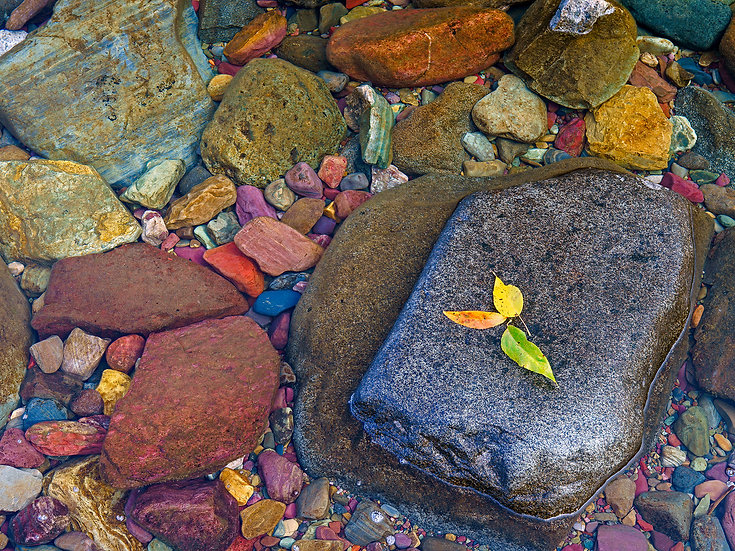 Lake McDonald Rocks