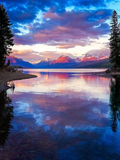 McDonald Creek Sunset