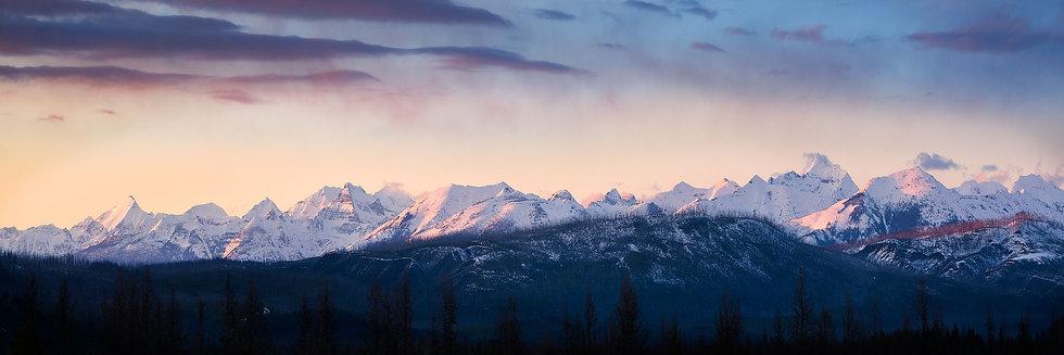 West Glacier Sunset