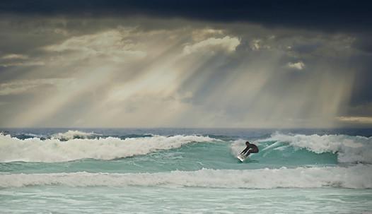Fistral Beach Surfer
