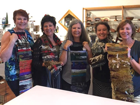 Free Form Weaving - Scarf Class