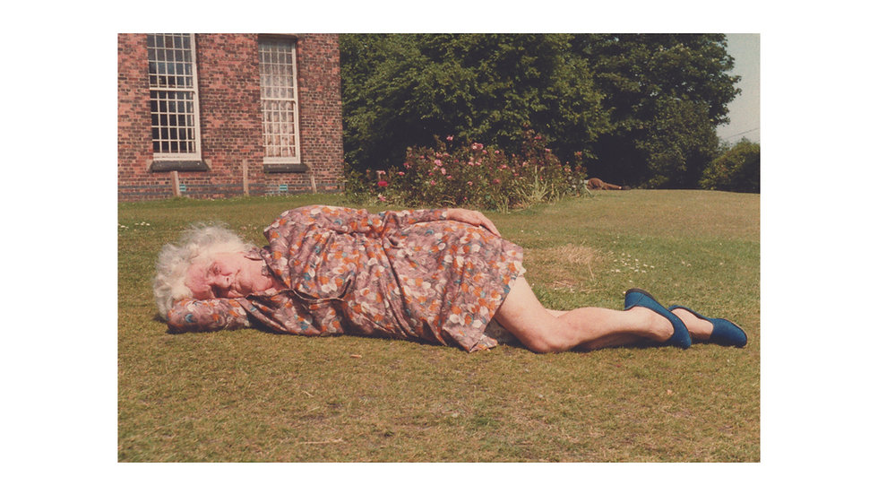 Lady Lying Down, Prestwich Psychiatric Hospital
