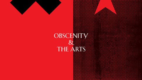 OBSCENITY & THE ARTS — ANTHONY BURGESS — with Germaine Greer and Andrew Biswell