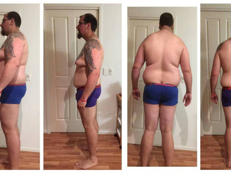 How he LOST 24kg in 12 weeks !!!