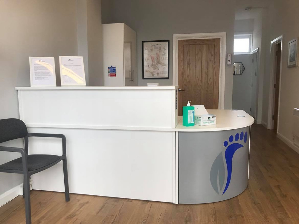 After transformation of clinic