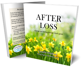 Book cover--After Loss: courage and healing through God's grace