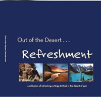 Cover to book--Out of the Desert...Refreshment
