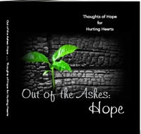 Cover to book--Out of the Ashes: Hope