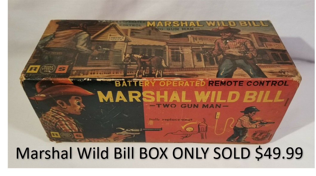 Marshal Wild Bill Box