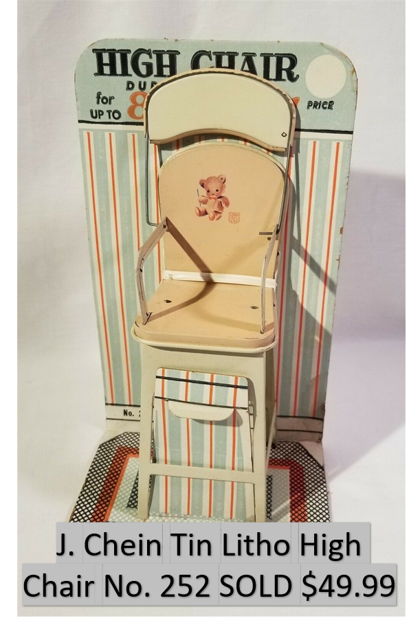 Tin Litho High Chair