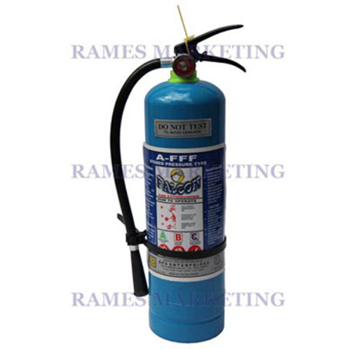 AFFF CHEMICAL FIRE EXTINGUISHER