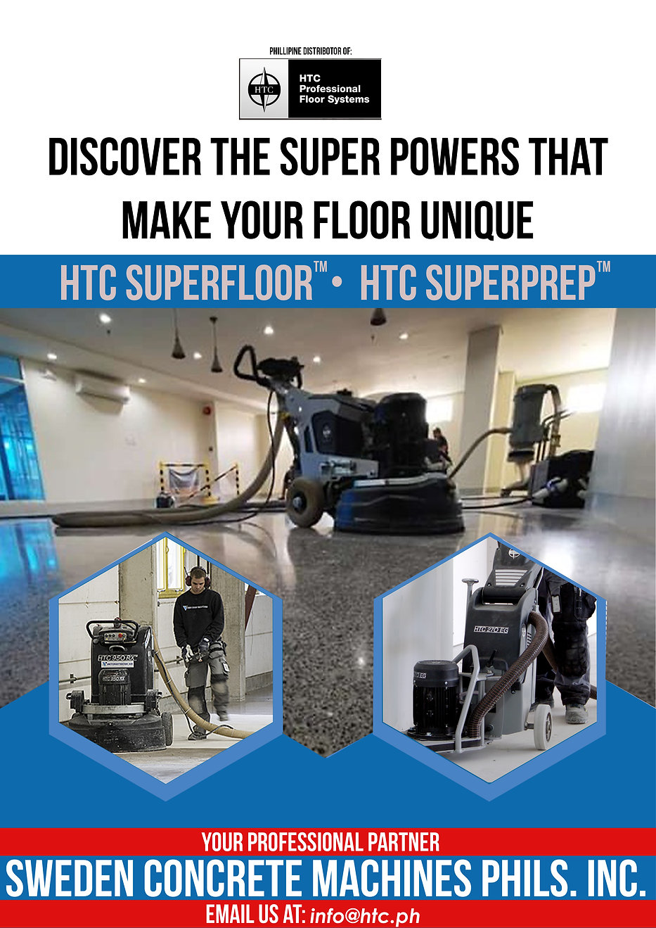 HTC Professional Floor Systems in Marikina