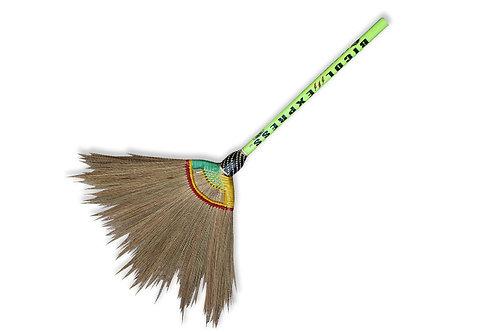 Soft Broom Wood Handle