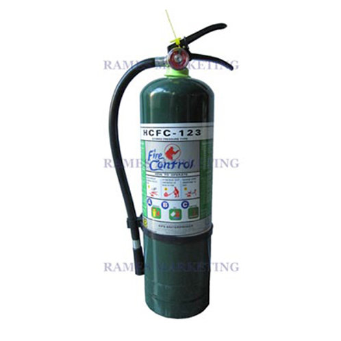 HCFC-123 CHEMICAL FIRE EXTINGUISHER