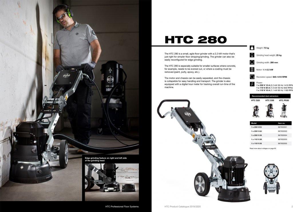 Blackline Grinding Machines HTC Series - NEW