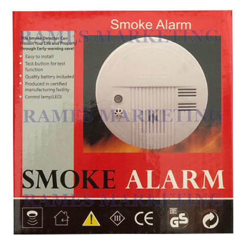 PHOTOELECTRIC SMOKE DETECTOR BATTERY OPERATED