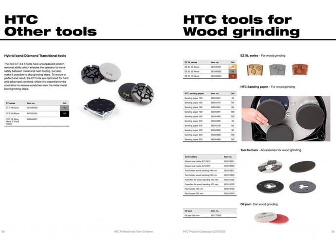 HTC PREMIUM DIAMOND TOOLS
