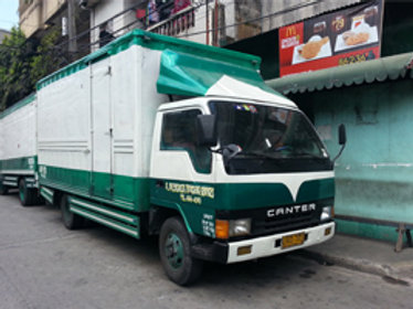 Aluminum Van or Close Van Truck (Green)