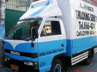 Dropside or Open Truck (Blue)