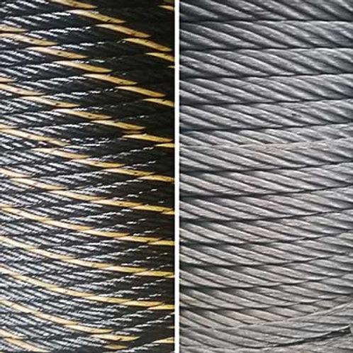 Ungalvanized & Galvanized Wire Ropes