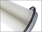 PTFE-coated conical filter