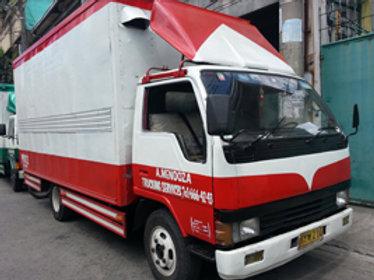 Aluminum Van or Close Van Truck (Red)