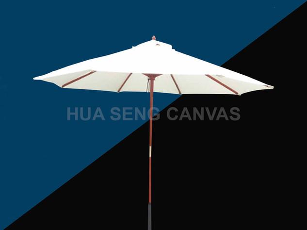 Wooden/Metal Frame Umbrella