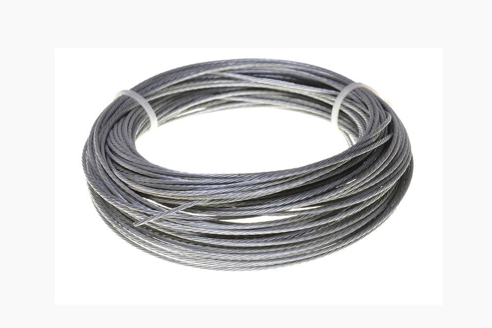 ungalvanized and galvanized steel wire ropes