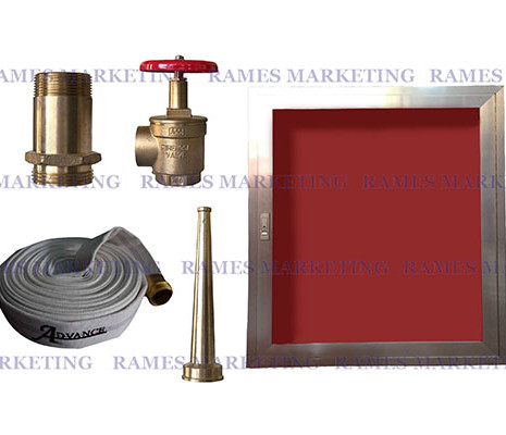 Fire Hose Cabinet with Accessories