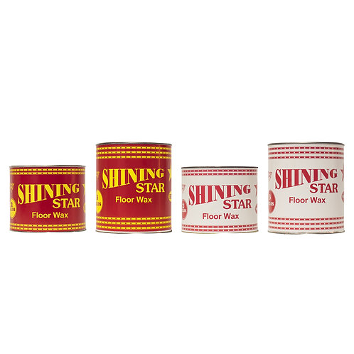 Shining Star Paste Floor Wax Can