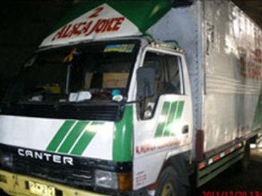 Dropside or Open Truck (Green)